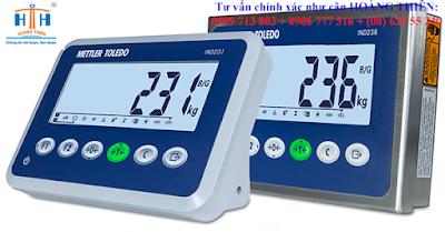 đầu cân điện tử hiện thị mettler ind 231-230 bảo hành tại cty