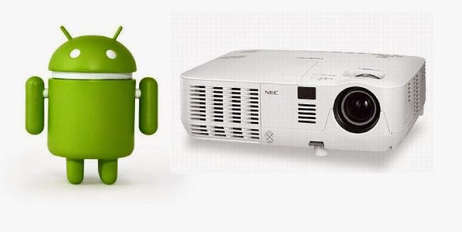 ¿Cómo conectar un smarphone o tablet Android a un proyector?