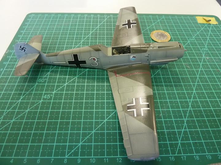 Bf-109 E-3 Tamiya 1/48 - Reforma pintura P1020496