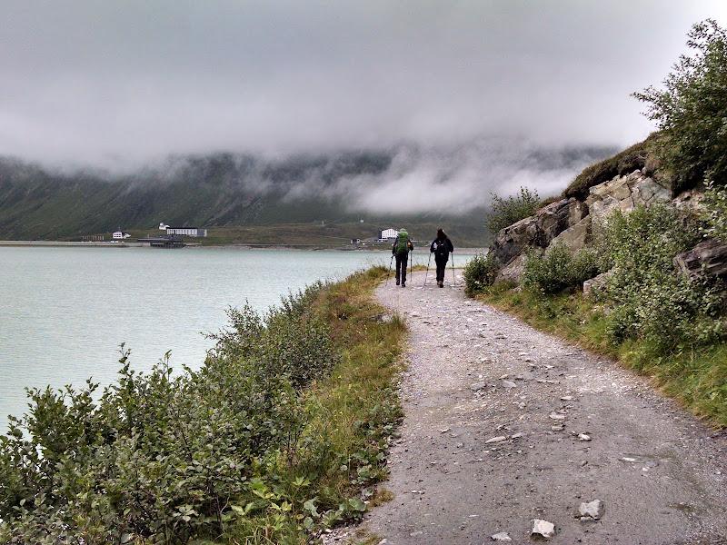 Piz Buin • Silvretta Lake