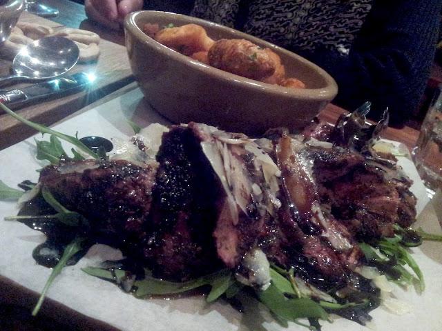Striploin steak, Andre's Cucina Frome St, Adelaide