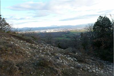 Vista de Gasteiz durante la subida