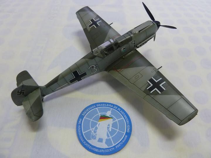 Bf-109 E-3 Tamiya 1/48 - Reforma pintura P1020656