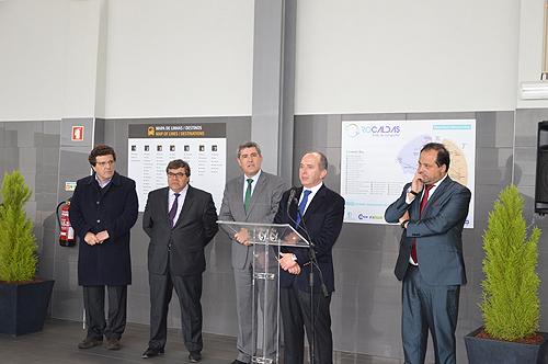 As obras foram inauguradas pelo presidente do Conselho de Administração da Rodoviária do Tejo