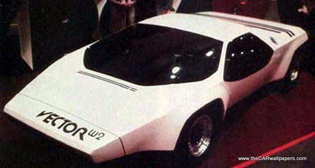 Vector W2 Car