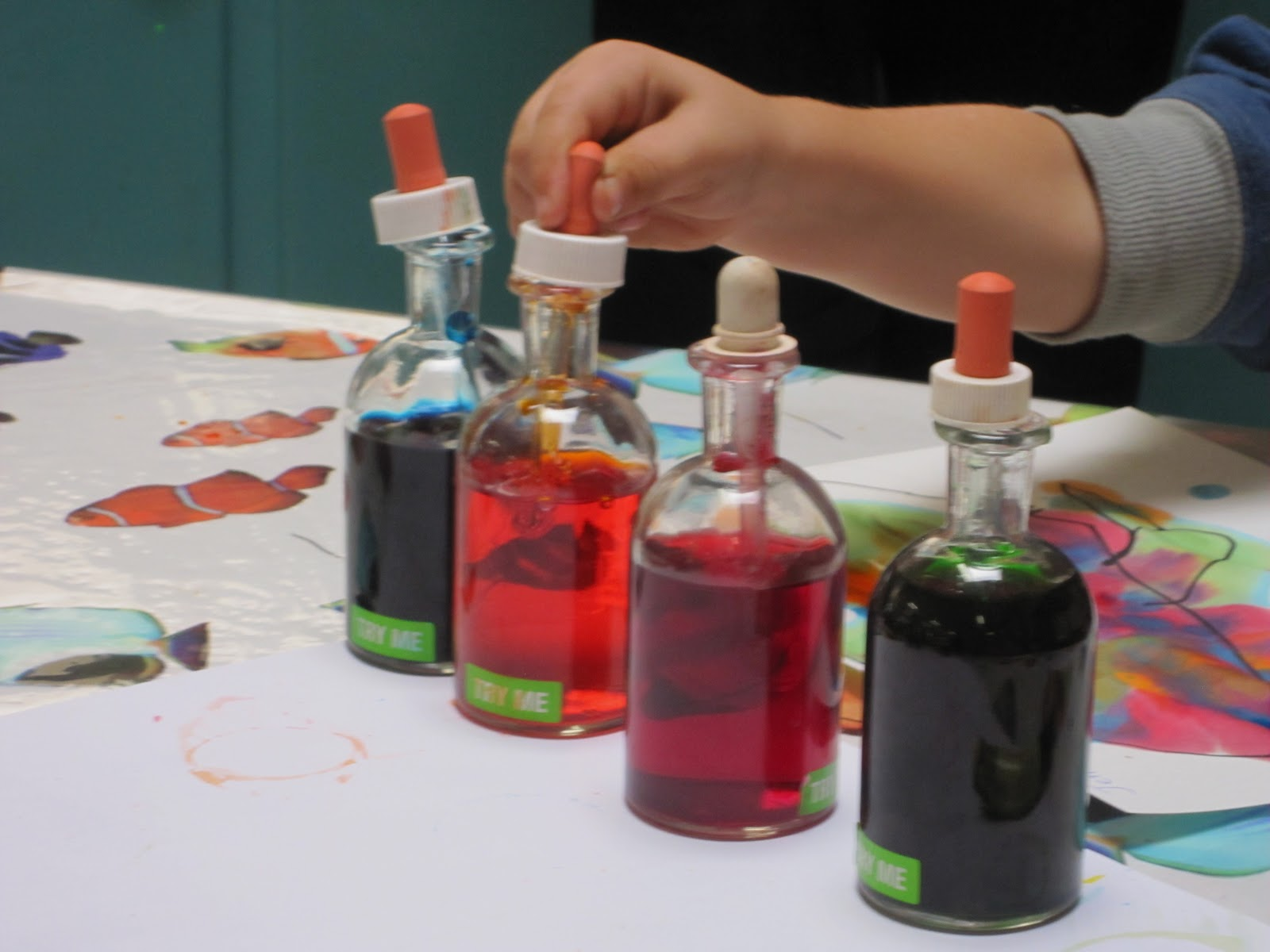 potions mixing colours flights of whimsy