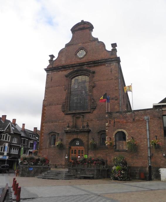 het stadhuis van Wavre