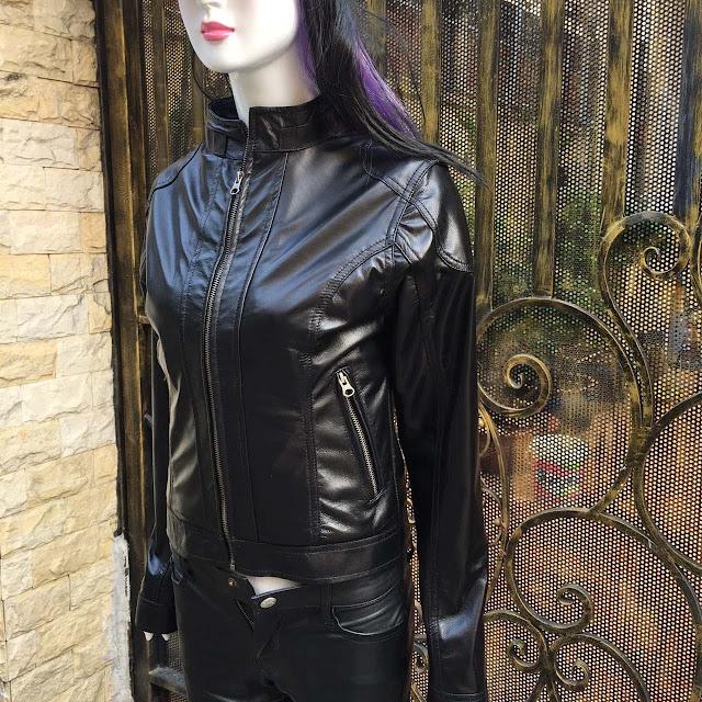 áo khoác da nữ cao cấp