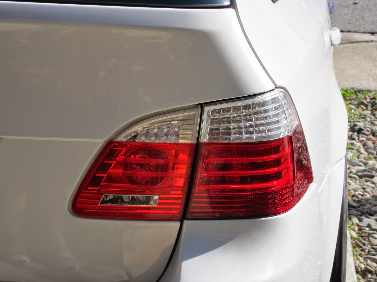 My Custom E61 Tail Lights Bmw M5 Forum And M6 Forums