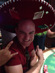I made friends at the Blackjack table and got a sombrero for my troubles