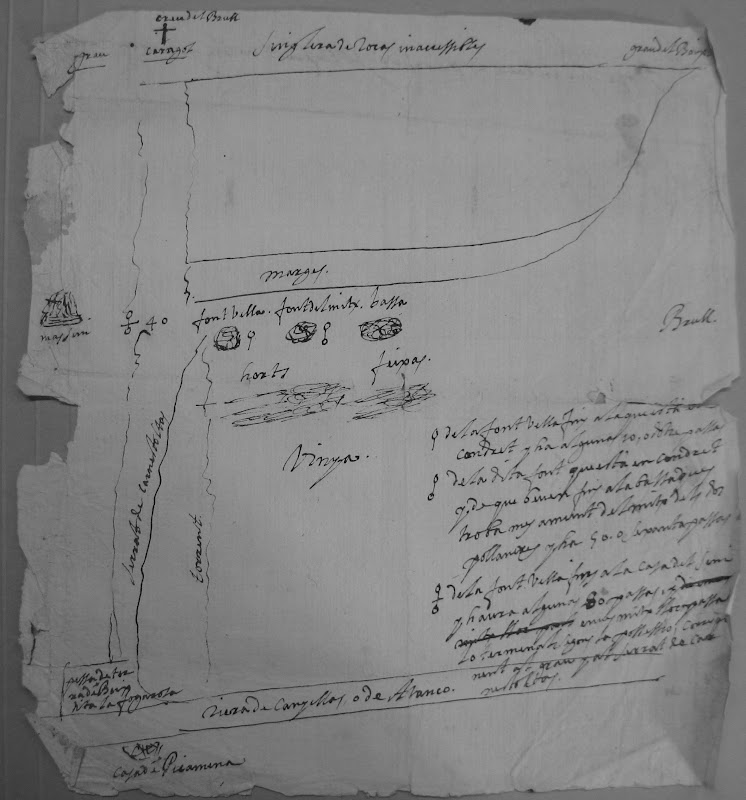 Mapa del mas Cargol