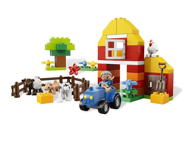 レゴ デュプロ はじめての農場セット 6141