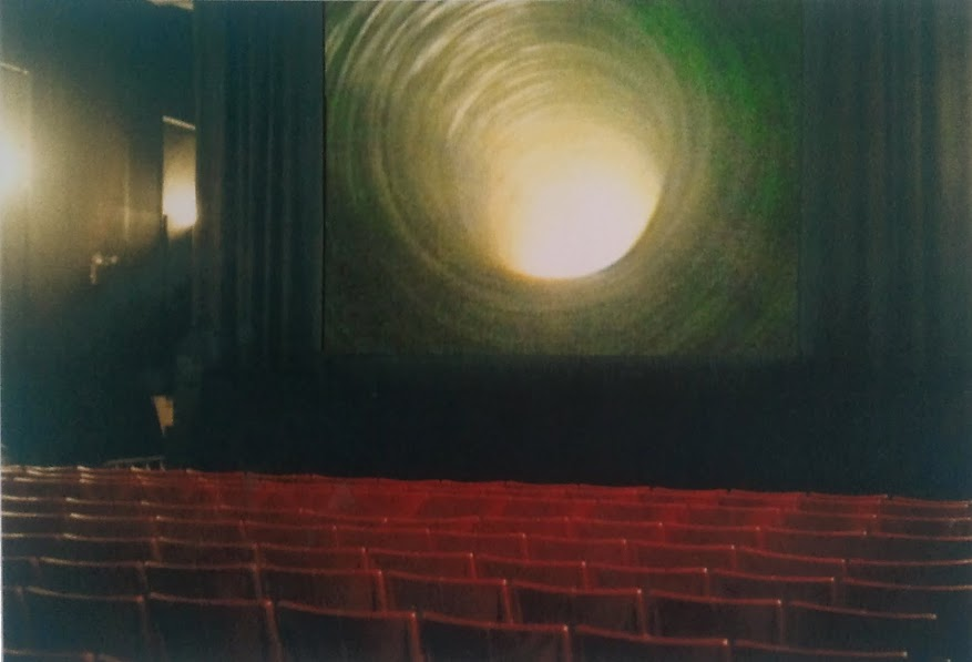 Bertrand Lamarche - A hole in the screen, 2000 at Anthology Film Archives , New York , 2000