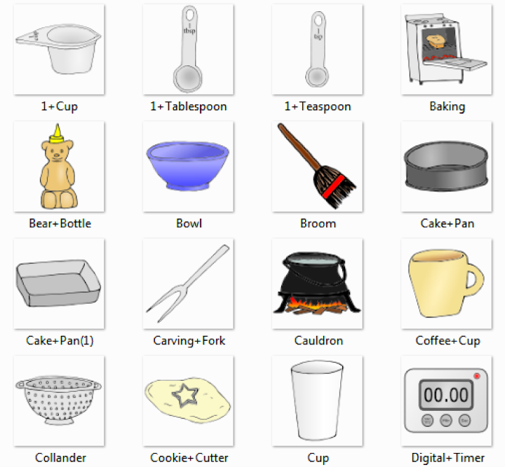 charming Kitchen Appliances Names #8: Kitchen Pictures for Classroom and Therapy Use