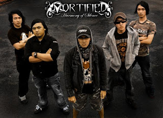 Mortified Foto Wallpaper Cover Band Death Metal Bandung Indonesia
