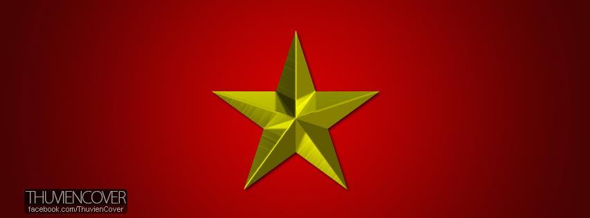 Ảnh bìa lá cờ Việt Nam