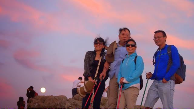 Ngắm trăng ở Mission Peak h4