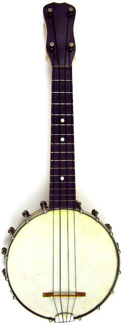 Slingerland made Montgomery Ward Concertone Banjolele banjo Ukulele