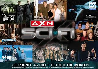 Axn scifi live Romania seriale filme