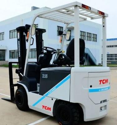 Xe nâng điện TCM 3 tấn Nhật Bản