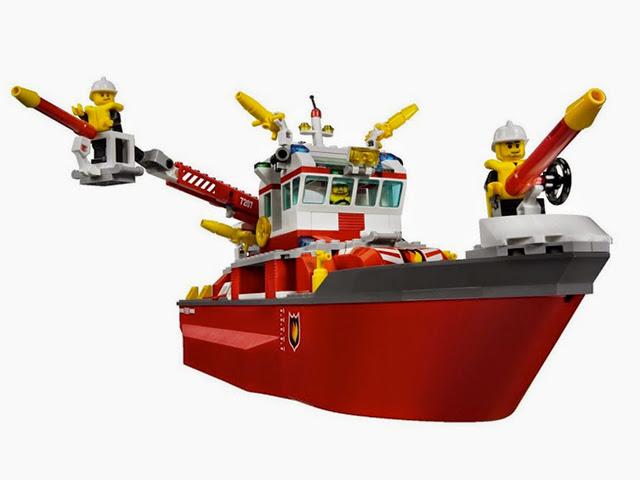 7207 レゴ ファイヤボート