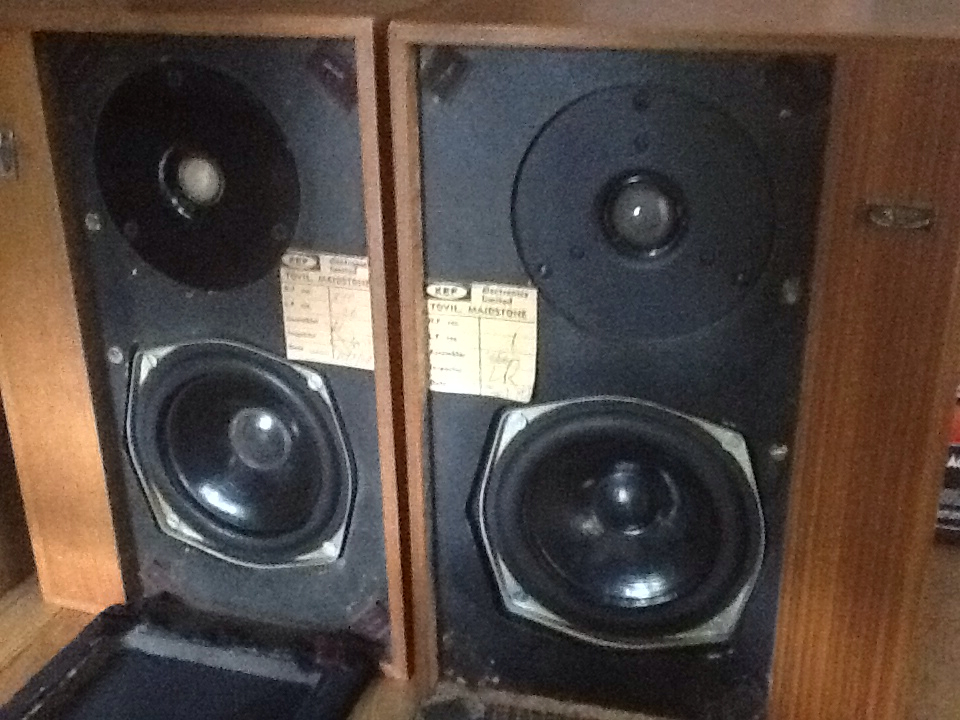 mending things: Kef Cresta speaker renovation
