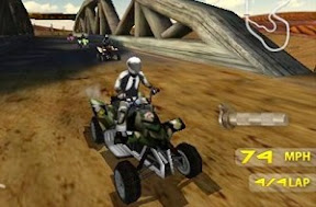 Atv Game Download Game EA Bornout: Action Racing Game on Java and Symbian phones