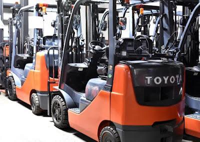 Đại lý xe nâng Toyota Nhật Bản