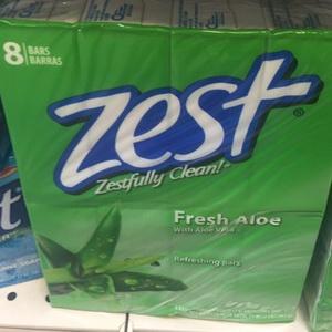 Xà phòng cục hương nha đam Zest Fresh Aloe hàng xách tay từ Mỹ