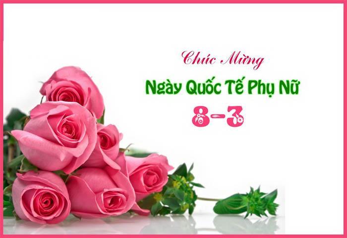 Ảnh hoa hồng chúc mừng 8-3