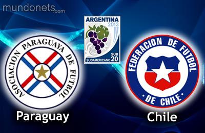 Chile Paraguay online vivo SUb 20 20Enero Horario