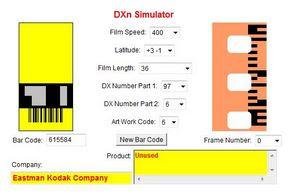 DM Paradies 400 a DXn Simulator oldalán