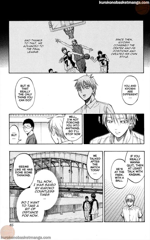 Kuroko no Basket Manga Chapter 56 - Image 17