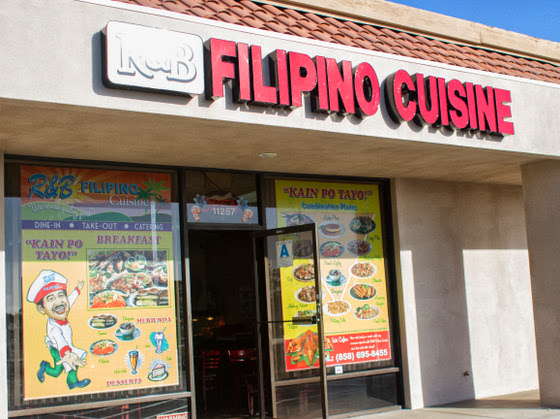 R&B Filipino Cuisine