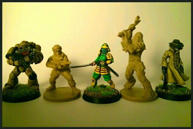 comparativa miniaturas de Imperial Assault con otras marcas