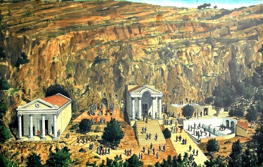 Храм бога Пана в Баниас. Экскурсия гида Светланы Фиалковой в Голаны