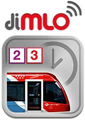 El Metro Ligero Oeste en tu móvil, diMLO
