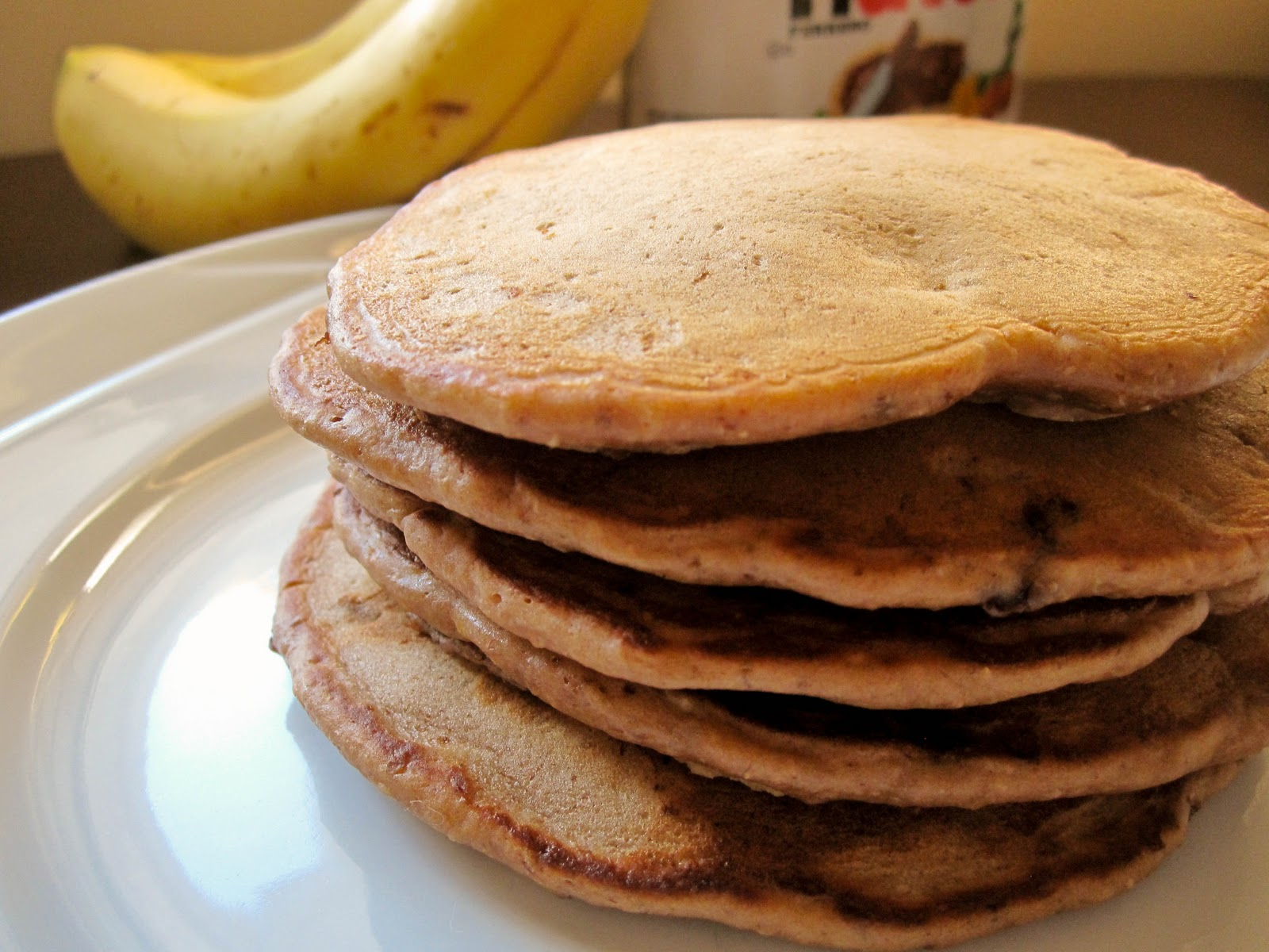 Banana Nutella Pancakes - Food & Whine