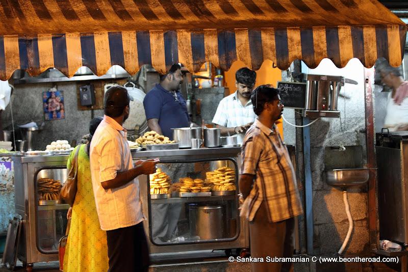 Yummy food galore at VV Puram's food street