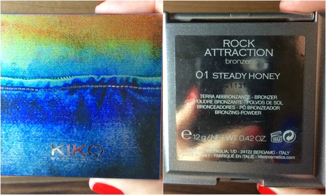 pó efeito bronzeado, Kiko, Kiko Make Up Milano, Kiko Make Up, Rock Attraction, cor 01, steady honey