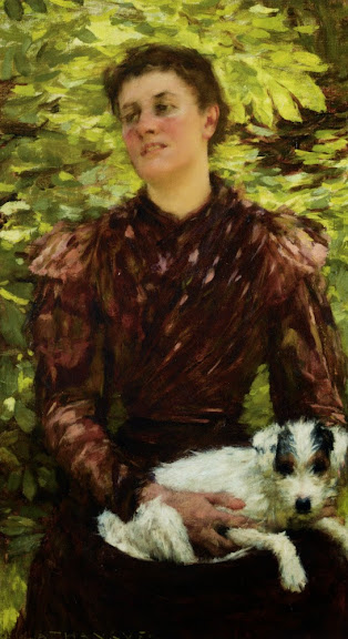 Henry Herbert La Thangue - The Puppy