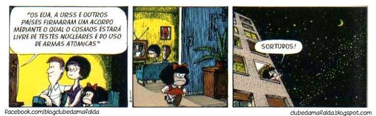 Clube da Mafalda: Tirinha 591