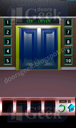 100 doors level 36 walkthrough doors geek for 100 doors 2 door 36