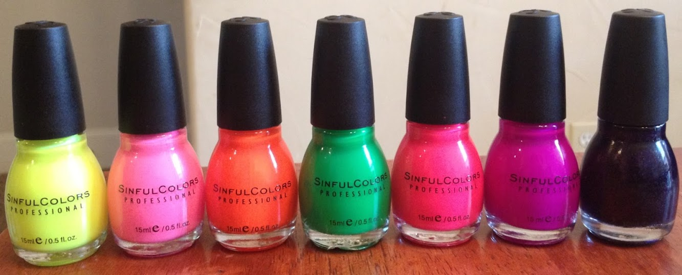 SinfulColors Nail Polish-Great summer colors!