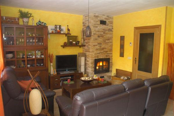Febrero 2011 - Como decorar un salon con chimenea ...