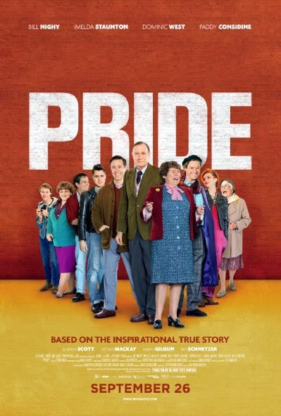 Poster Of English Movie Pride (2014) Free Download Full New Hollywood Movie Watch Online At alldownloads4u.com
