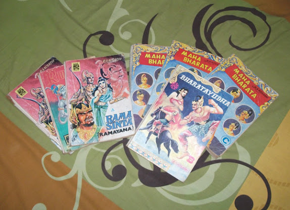 Some of R. A. Kosasih comics I have