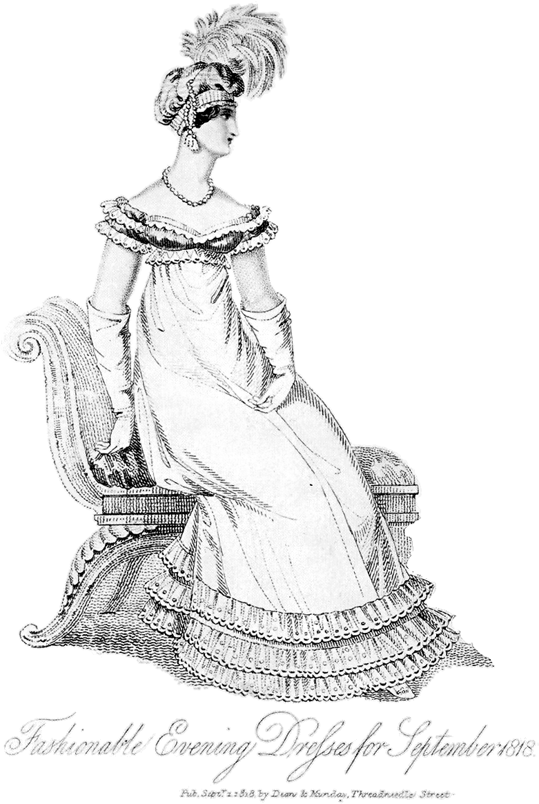 Diary Of A Mantua Maker Regency Evening Gown Designing