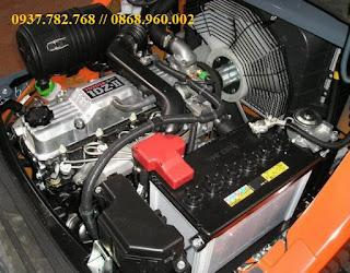động cơ xe nâng Toyota 1DZ-II