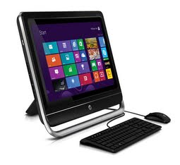 HP Pavilion TouchSmart 23-f260xt review: This clunky-looking budget all-in-one ...